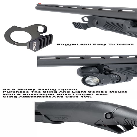 Benelli Supernova Tactical Shotgun Flashlight Mount