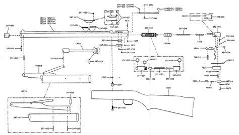 Benjamin 392 Air Rifle Schematics