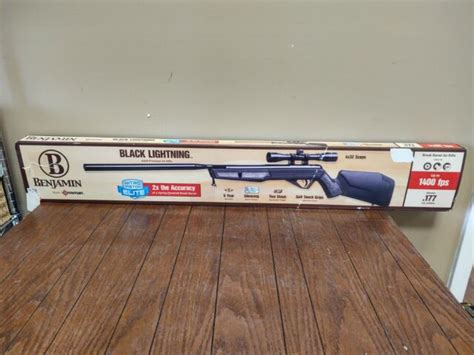 Benjamin Blacklightning Air Rifle 717da1773
