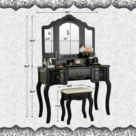 Benson Vanity Set with Mirror