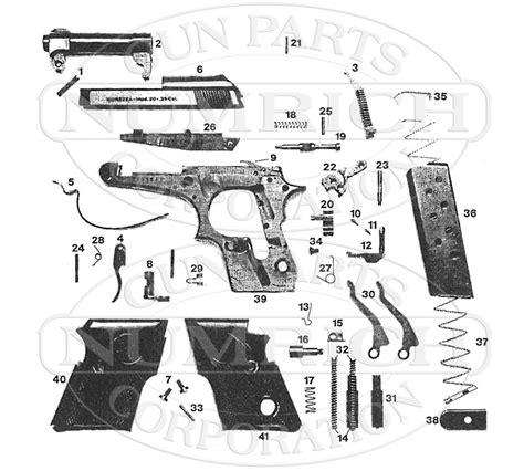 Beretta 21A Schematic - Brownells UK