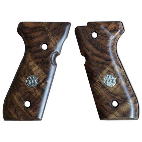 Beretta 92 Series Walnut Grips Grade 3 Deluxe