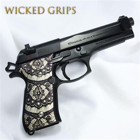 Beretta 92fs Grips Wicked Grips Custom Handgun Pistol