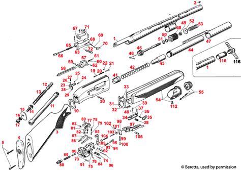 Beretta Al390 Schematic Brownells Uk