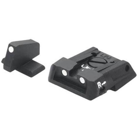 Beretta Apx White Dot Ajustable Sight Kit Beretta Apx White Dot Adj Sight Kit