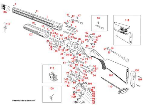 Beretta DT11 Explosionszeichnung - Brownells Schweiz