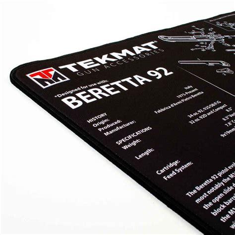 Beretta Gun Cleaning Mat And Best Way To Clean Rust From A Gun Barrel