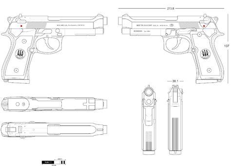 Beretta M9A3 Schemat - Brownells Polska