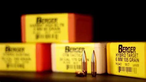 Berger Bullets Tactical Vs Hunting