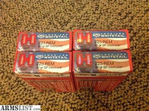 Best 223 Ammo For Whitetail