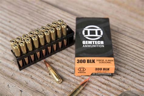 Best 300 Blackout Ammo For Plinking