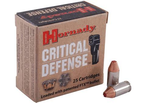 Best 380 Auto Ammo Self Defense