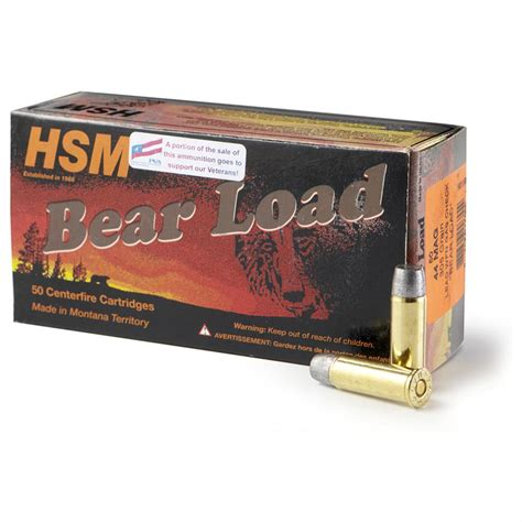 Best 44 Mag Ammo For Bear