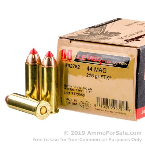 Best 44 Mag Rifle Hunting Ammo