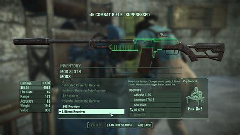 Best 5 56 Assault Rifle Mods Fallout 4
