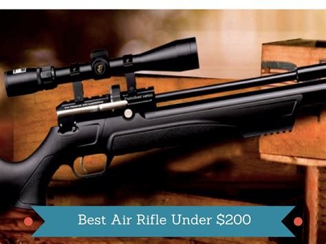 Best Air Rifle For 200