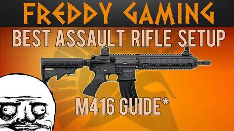 Best Assault Rifle In Bf4