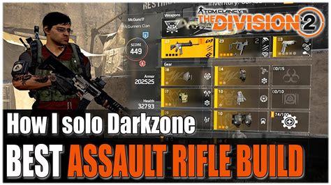 Best Assault Rifle Talent Division 2