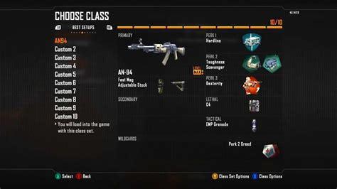 Best Bo2 Assault Rifle Class