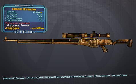Best Borderlands 2 Sniper Rifle Siren