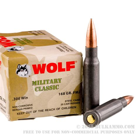Best Bulk 308 Ammo 1000 Rounds
