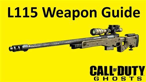 Best Cod Ghosts Sniper Rifle