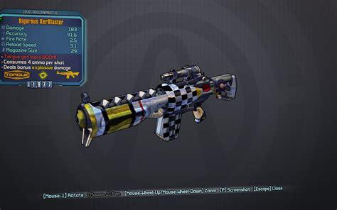 Best Dahl Assault Rifle Borderlands 2