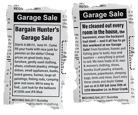 Best Garage Sale Ads Make Your Own Beautiful  HD Wallpapers, Images Over 1000+ [ralydesign.ml]