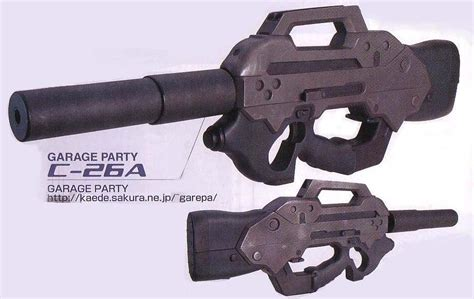 Best Ghost In The Shell Assult Rifle