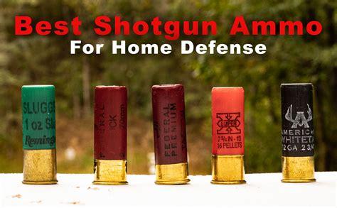 Best Home Defense Ammo For Shotgun