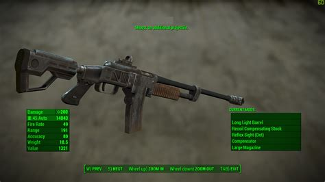 Best Mods For Combat Rifle Fallout 4