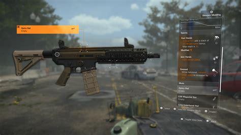 Best Optiv Division 2 Assault Rifle
