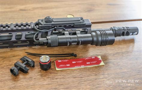 Best Placement For Streamlight Tri On Ar Quad Rail