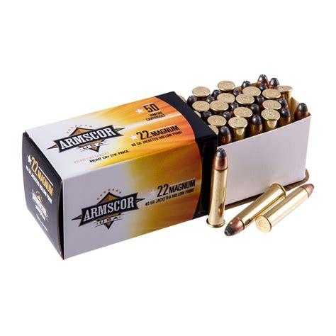 Best Price Armscor 22 Magnum Ammo