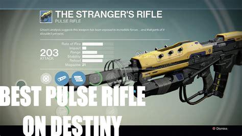 Best Pulse Rifle Destiny 1