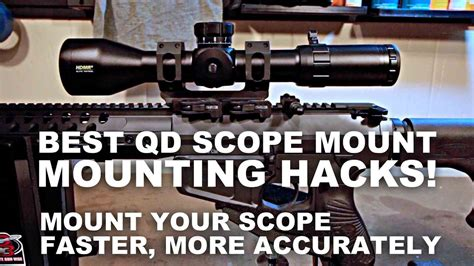 Best Qd Scope Mounting Hacks Faster Better Accuracy