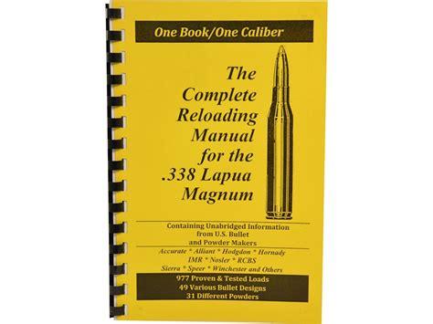 Best Reloading Manual For 338 Lapua