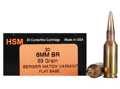 Best Reloads For 6mmbr Ammo