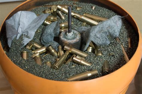 Best Rifle Brass Cleaning Method