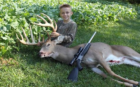 Best Rifle For Deer Hunting For 7 Year Old Boy