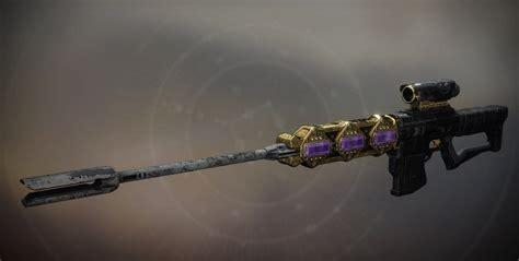 Best Rolls For A Raid Sniper Rifle Destiny