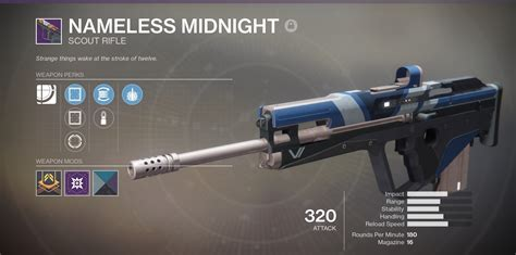 Best Scout Rifle Reforge Pvp