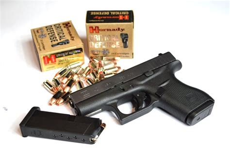 Best Self Defence Ammo For Glock 42
