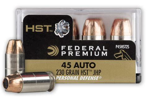 Best Self Defense 45 Ammo