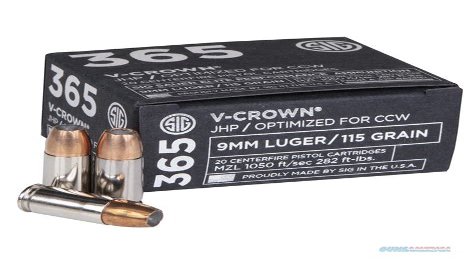 Best Self Defense Round For Sig P365
