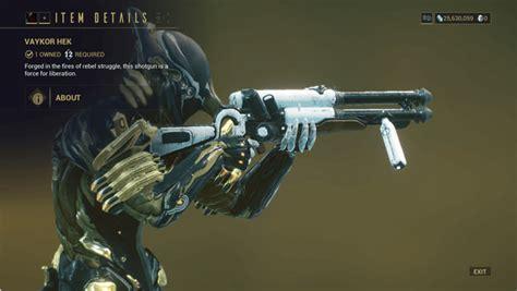Best Shotguns In Warframe