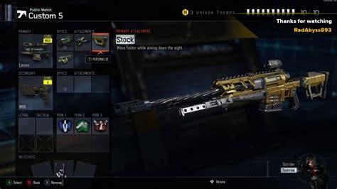 Best Sniper Rifle Class Black Ops 3