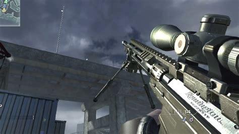 Best Sniper Rifle In Mw3