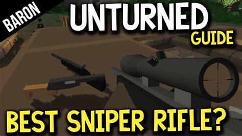 Best Sniper Rifle In Untiurned