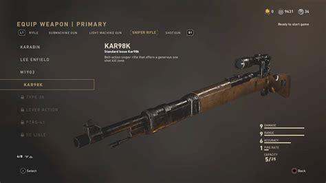 Best Sniper Rifle Ww2 Cod